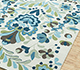 Jaipur Rugs - Hand Tufted Synthetic Fiber Ivory 50753KH Area Rug Floorshot - RUG1086847
