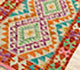 Jaipur Rugs - Flat Weaves Wool Beige and Brown AFDW-170 Area Rug Floorshot - RUG1090843