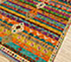 Jaipur Rugs - Hand Knotted Wool Beige and Brown AFKW-07 Area Rug Floorshot - RUG1090743