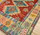 Jaipur Rugs - Hand Knotted Wool Red and Orange AFKW-116 Area Rug Floorshot - RUG1090782