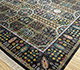 Jaipur Rugs - Hand Knotted Silk Grey and Black ASL-09 Area Rug Floorshot - RUG1080018