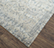Jaipur Rugs - Hand Knotted Wool and Silk Grey and Black CX-2490 Area Rug Floorshot - RUG1076366