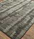 Jaipur Rugs - Hand Knotted Wool and Silk Grey and Black CX-2523 Area Rug Floorshot - RUG1077758