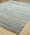 Jaipur Rugs - Hand Knotted Wool and Bamboo Silk Grey and Black CX-2662 Area Rug Floorshot - RUG1081542