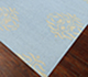 Jaipur Rugs - Flat Weaves Wool Blue DW-108 Area Rug Floorshot - RUG1040255