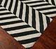 Jaipur Rugs - Flat Weave Wool Grey and Black DW-112 Area Rug Floorshot - RUG1021547