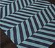 Jaipur Rugs - Flat Weave Wool Blue DW-112 Area Rug Floorshot - RUG1033064