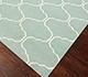 Jaipur Rugs - Flat Weave Wool Blue DW-119 Area Rug Floorshot - RUG1038727