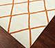 Jaipur Rugs - Flat Weaves Wool Ivory DW-133 Area Rug Floorshot - RUG1032790