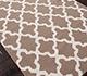 Jaipur Rugs - Flat Weaves Wool Beige and Brown DW-138 Area Rug Floorshot - RUG1038778