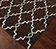 Jaipur Rugs - Flat Weave Wool Beige and Brown DW-162 Area Rug Floorshot - RUG1060322