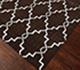 Jaipur Rugs - Flat Weave Wool Beige and Brown DW-162 Area Rug Floorshot - RUG1060334