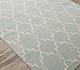 Jaipur Rugs - Flat Weave Wool Blue DW-162 Area Rug Floorshot - RUG1060323