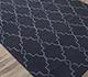 Jaipur Rugs - Flat Weave Wool Blue DW-162 Area Rug Floorshot - RUG1060324