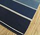 Jaipur Rugs - Flat Weave Wool Blue DWRM-05 Area Rug Floorshot - RUG1095681