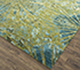 Jaipur Rugs - Hand Knotted Wool and Bamboo Silk Green ESK-400 Area Rug Floorshot - RUG1072359
