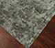Jaipur Rugs - Hand Knotted Wool and Bamboo Silk Grey and Black ESK-401 Area Rug Floorshot - RUG1040350