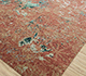 Jaipur Rugs - Hand Knotted Wool and Bamboo Silk Red and Orange ESK-406 Area Rug Floorshot - RUG1081142