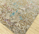 Jaipur Rugs - Hand Knotted Wool and Bamboo Silk Ivory ESK-406 Area Rug Floorshot - RUG1081194