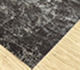 Jaipur Rugs - Hand Knotted Wool and Bamboo Silk Grey and Black ESK-411 Area Rug Floorshot - RUG1084806