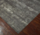 Jaipur Rugs - Hand Knotted Wool and Bamboo Silk Grey and Black ESK-431 Area Rug Floorshot - RUG1053578