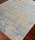 Jaipur Rugs - Hand Knotted Wool and Bamboo Silk Blue ESK-431 Area Rug Floorshot - RUG1071943