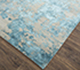 Jaipur Rugs - Hand Knotted Wool and Bamboo Silk Blue ESK-431 Area Rug Floorshot - RUG1074209