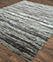 Jaipur Rugs - Hand Knotted Wool and Bamboo Silk Grey and Black ESK-433 Area Rug Floorshot - RUG1074650