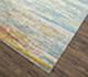 Jaipur Rugs - Hand Knotted Wool and Bamboo Silk Blue ESK-433 Area Rug Floorshot - RUG1074655