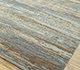 Jaipur Rugs - Hand Knotted Wool and Bamboo Silk Grey and Black ESK-433 Area Rug Floorshot - RUG1085382