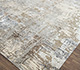 Jaipur Rugs - Hand Knotted Wool and Bamboo Silk Grey and Black ESK-439 Area Rug Floorshot - RUG1074191