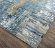 Jaipur Rugs - Hand Knotted Wool and Bamboo Silk Blue ESK-439 Area Rug Floorshot - RUG1085422