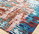 Jaipur Rugs - Hand Knotted Wool and Bamboo Silk Red and Orange ESK-439 Area Rug Floorshot - RUG1088480