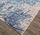 Jaipur Rugs - Hand Knotted Wool and Bamboo Silk Blue ESK-441 Area Rug Floorshot - RUG1075140