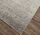 Jaipur Rugs - Hand Knotted Wool and Bamboo Silk Grey and Black ESK-603 Area Rug Floorshot - RUG1074662