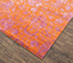 Jaipur Rugs - Hand Knotted Wool and Bamboo Silk Red and Orange ESK-623 Area Rug Floorshot - RUG1073735