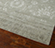 Jaipur Rugs - Hand Knotted Wool and Bamboo Silk Grey and Black ESK-624 Area Rug Floorshot - RUG1039032
