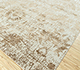 Jaipur Rugs - Hand Knotted Wool and Bamboo Silk Ivory ESK-624 Area Rug Floorshot - RUG1088210