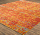 Jaipur Rugs - Hand Knotted Wool and Bamboo Silk Beige and Brown ESK-632 Area Rug Floorshot - RUG1072254