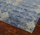 Jaipur Rugs - Hand Knotted Wool and Bamboo Silk Blue ESK-661 Area Rug Floorshot - RUG1058330
