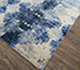 Jaipur Rugs - Hand Knotted Wool and Bamboo Silk Blue ESK-661 Area Rug Floorshot - RUG1074667