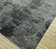 Jaipur Rugs - Hand Knotted Wool and Bamboo Silk Grey and Black ESK-661 Area Rug Floorshot - RUG1094491