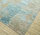 Jaipur Rugs - Hand Knotted Wool and Bamboo Silk Blue ESK-661 Area Rug Floorshot - RUG1087603