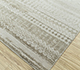 Jaipur Rugs - Hand Knotted Wool and Bamboo Silk Ivory ESK-663 Area Rug Floorshot - RUG1096551