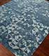 Jaipur Rugs - Hand Knotted Wool and Bamboo Silk Blue ESK-680 Area Rug Floorshot - RUG1053832