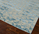 Jaipur Rugs - Hand Knotted Wool and Bamboo Silk Blue ESK-680 Area Rug Floorshot - RUG1058336