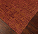 Jaipur Rugs - Hand Knotted Wool and Bamboo Silk Red and Orange ESK-685 Area Rug Floorshot - RUG1068758