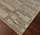Jaipur Rugs - Hand Knotted Wool and Bamboo Silk Grey and Black ESK-696 Area Rug Floorshot - RUG1065352