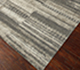 Jaipur Rugs - Hand Knotted Wool and Bamboo Silk Grey and Black ESK-697 Area Rug Floorshot - RUG1065654