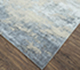 Jaipur Rugs - Hand Knotted Wool and Bamboo Silk Grey and Black ESK-723 Area Rug Floorshot - RUG1075142
